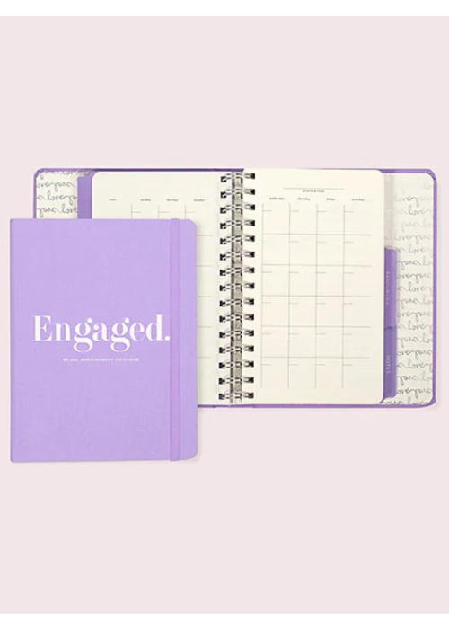 "Kate Spade ""Engaged."" Bridal Appointment Calendar"