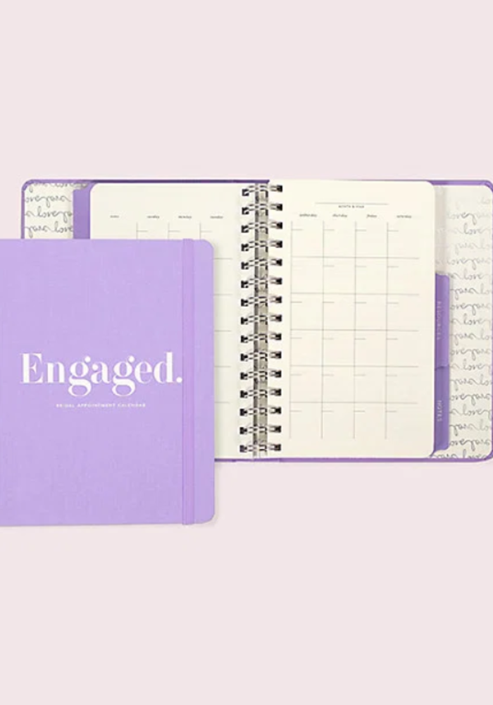 Bridal Appointment Calendar, Engaged