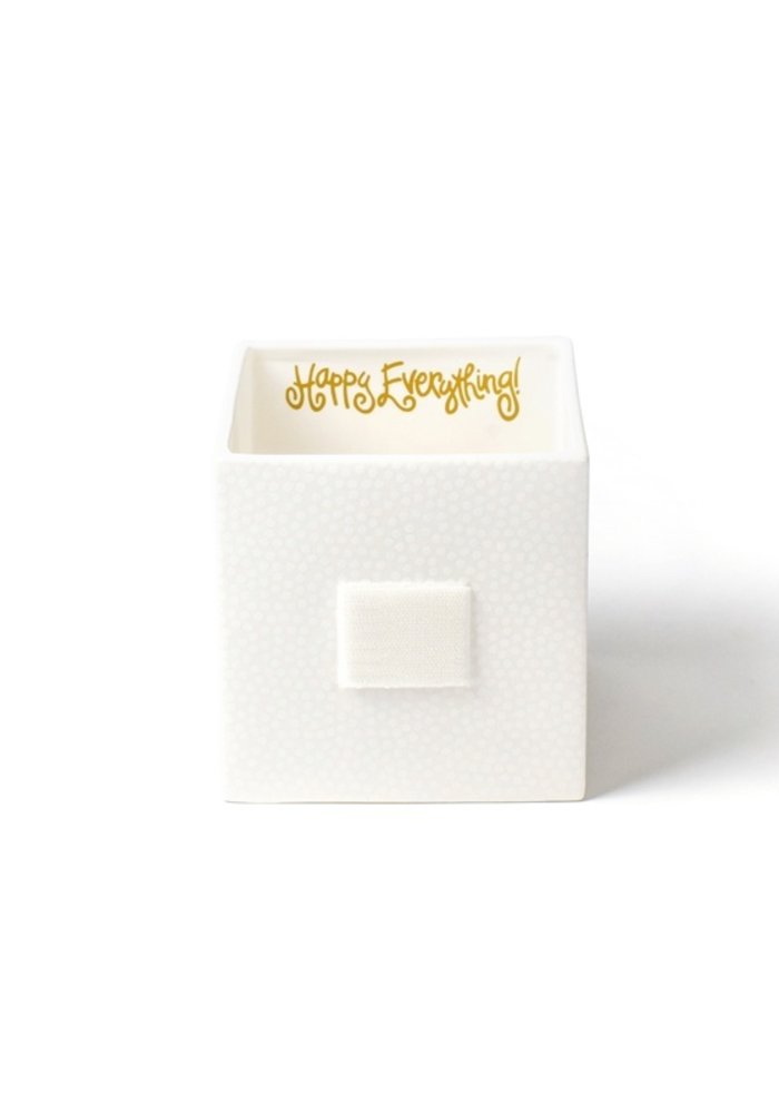 White Nesting Cubes