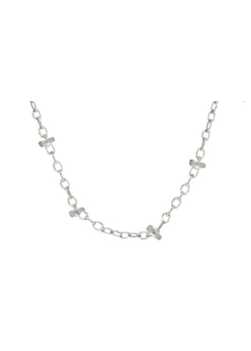 "Enewton 15"" Choker Simplicity Chain - Sterling 2mm Bead"