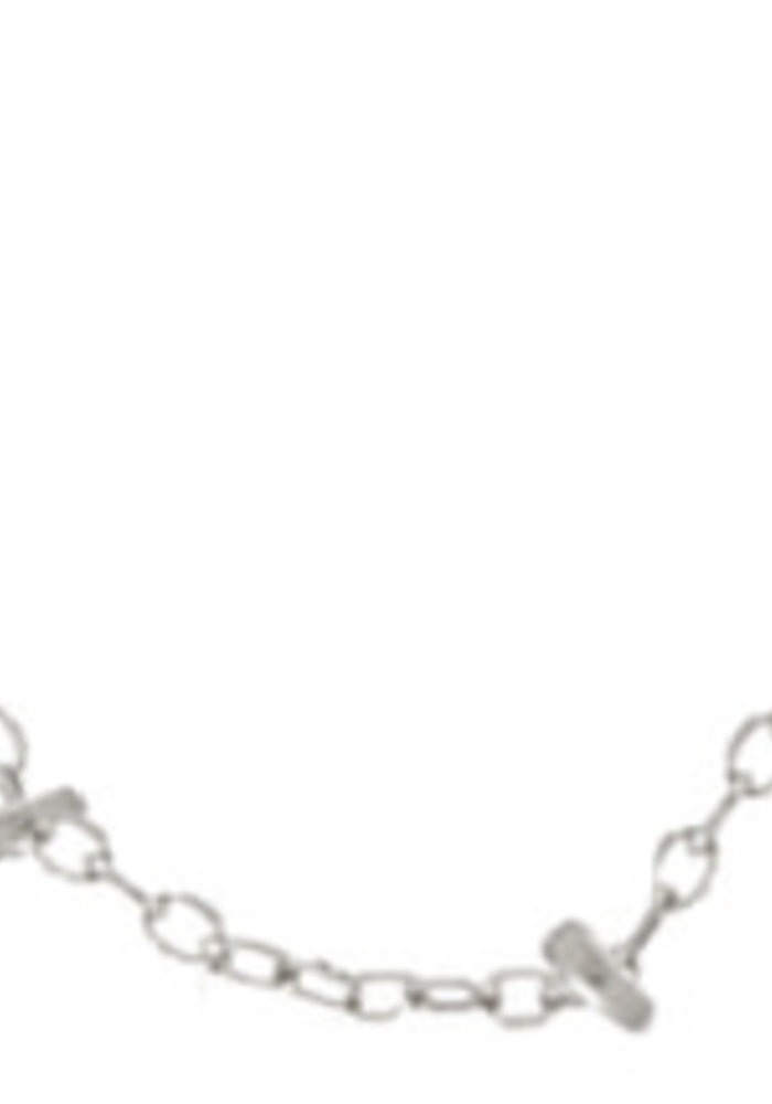 "15"" Choker Simplicity Chain - Sterling 2mm Bead"