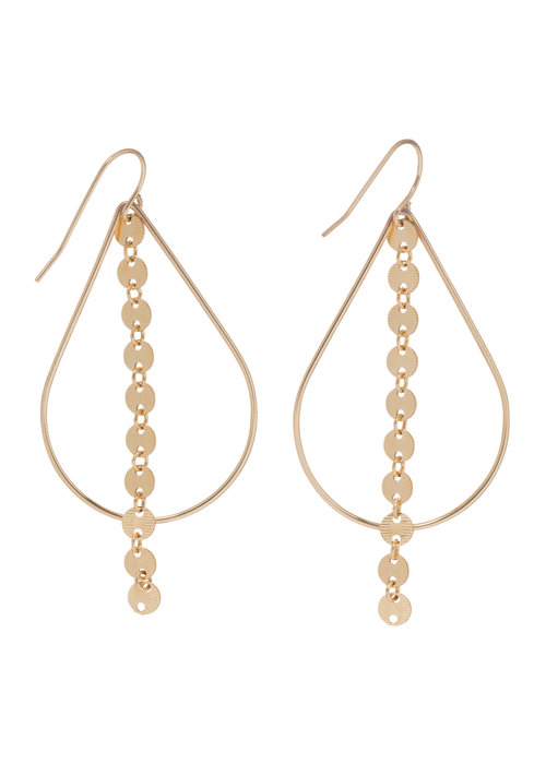 Enewton Basic Teardrop Infinity Chic Earring