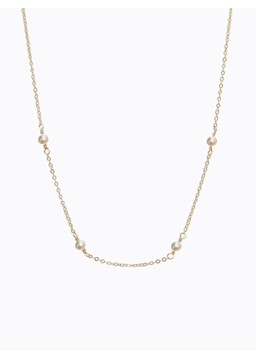ABLE Halcyon Necklace in Pearl