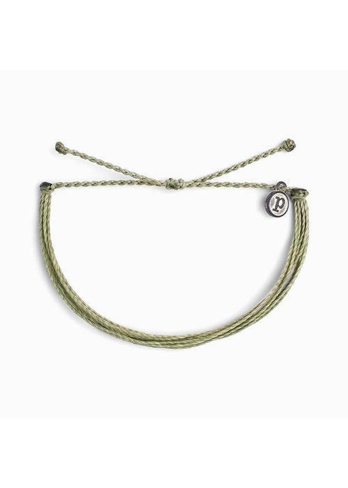 Pura Vida Original Bracelet Solid Sage