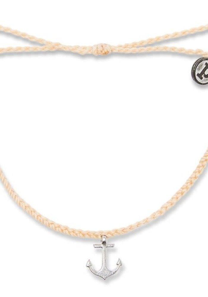 Anchor Charm Braided Bracelet