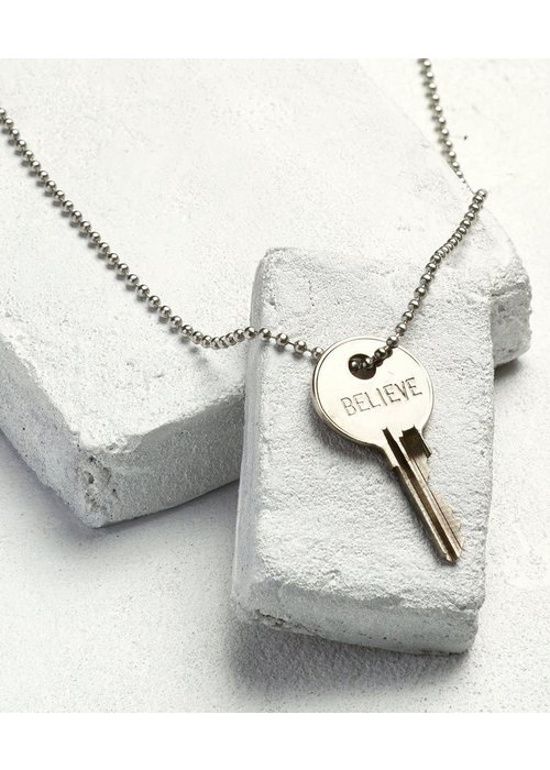The Giving Keys Giving Keys Inspirational Word Classic Ball Chain Necklace