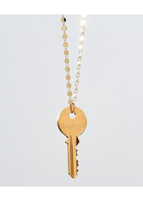 The Giving Keys Giving Keys Inspirational Word Barcelona Classic Key Necklace