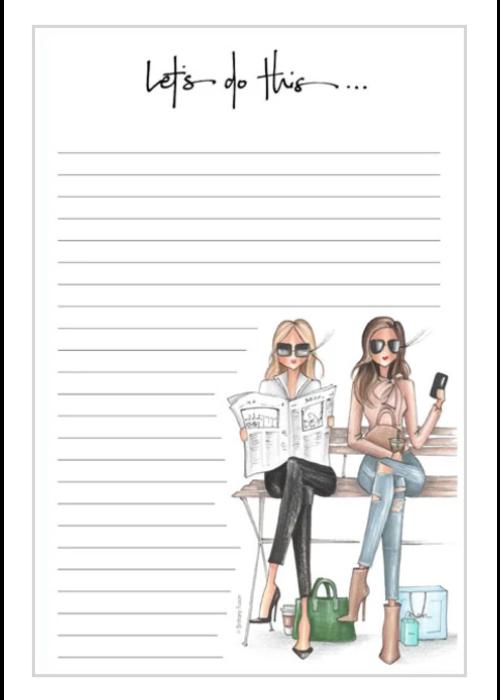 "Brittany Fuson ""Union Square"" Brittany Fuson™ Notepad"