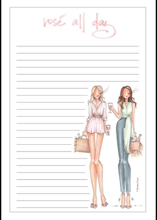 "Brittany Fuson ""Rosé"" Brittany Fuson™ Notepad"