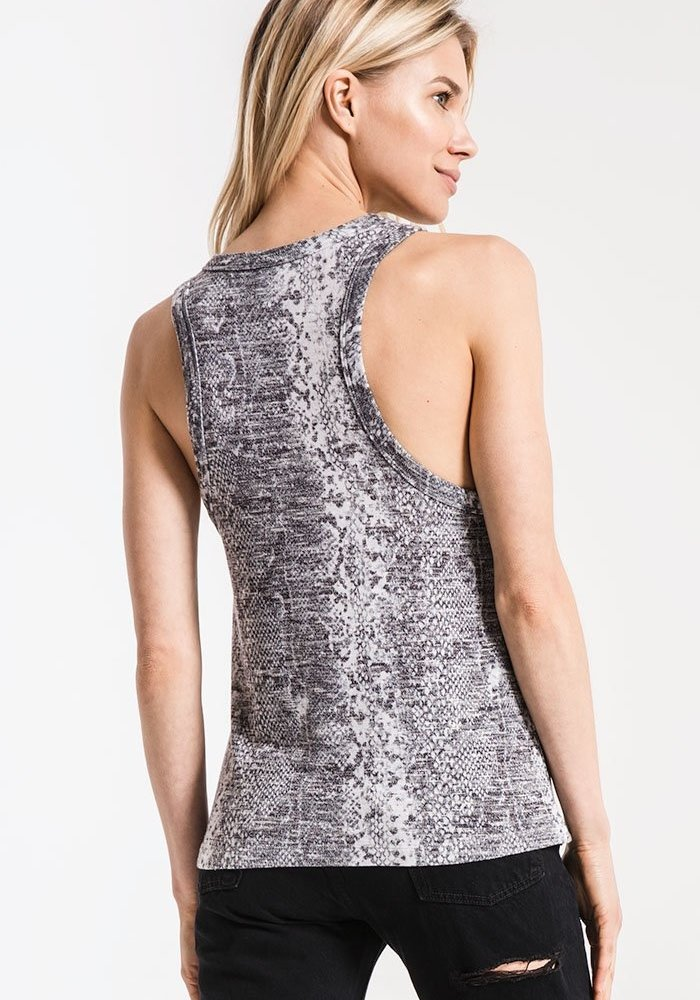The Snakeskin Muscle Tank
