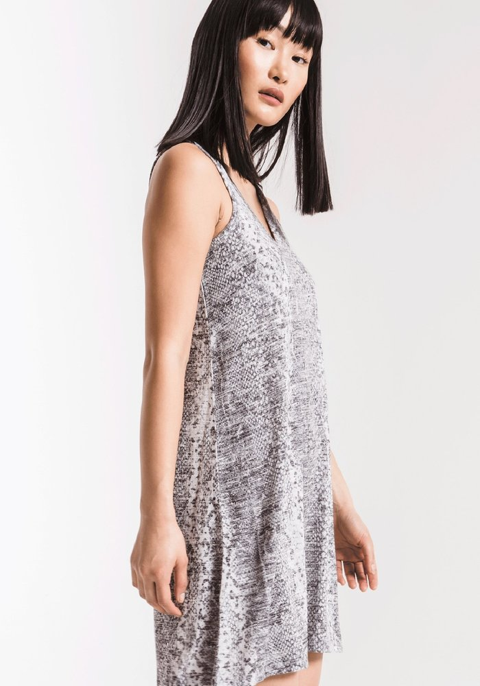The Snakeskin Breezy Dress