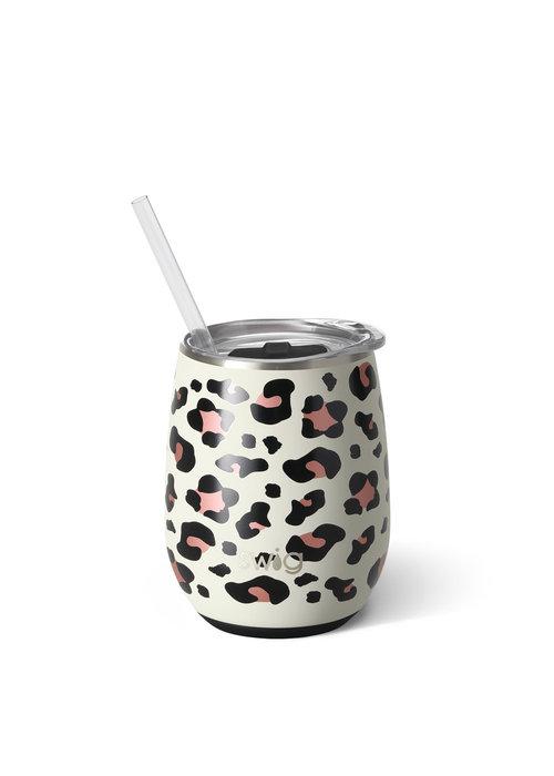 Swig 14oz Swig Wine Cup Leopard