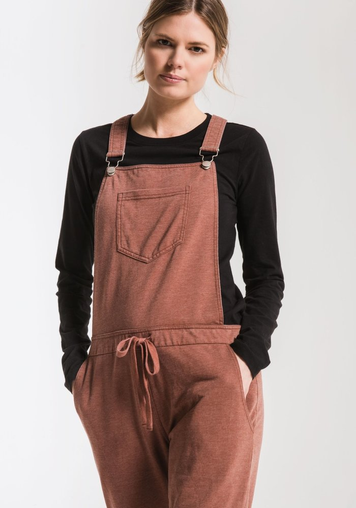 The French Terry Overalls
