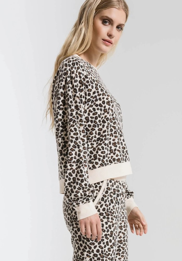 The Multi Leopard Pullover