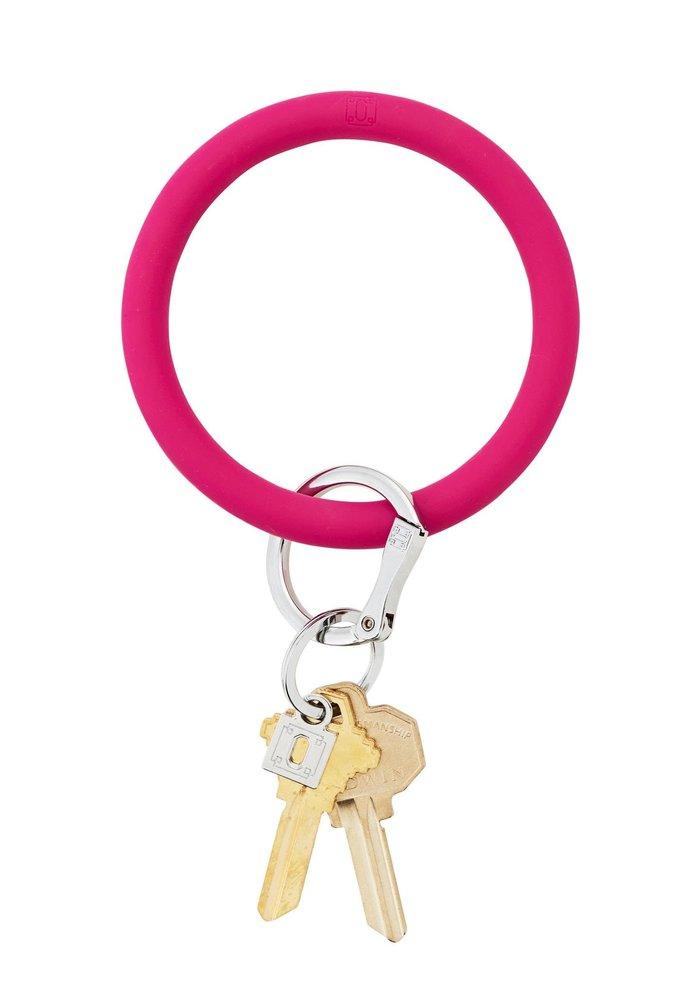 Silicone Big O Ring I Scream Pink