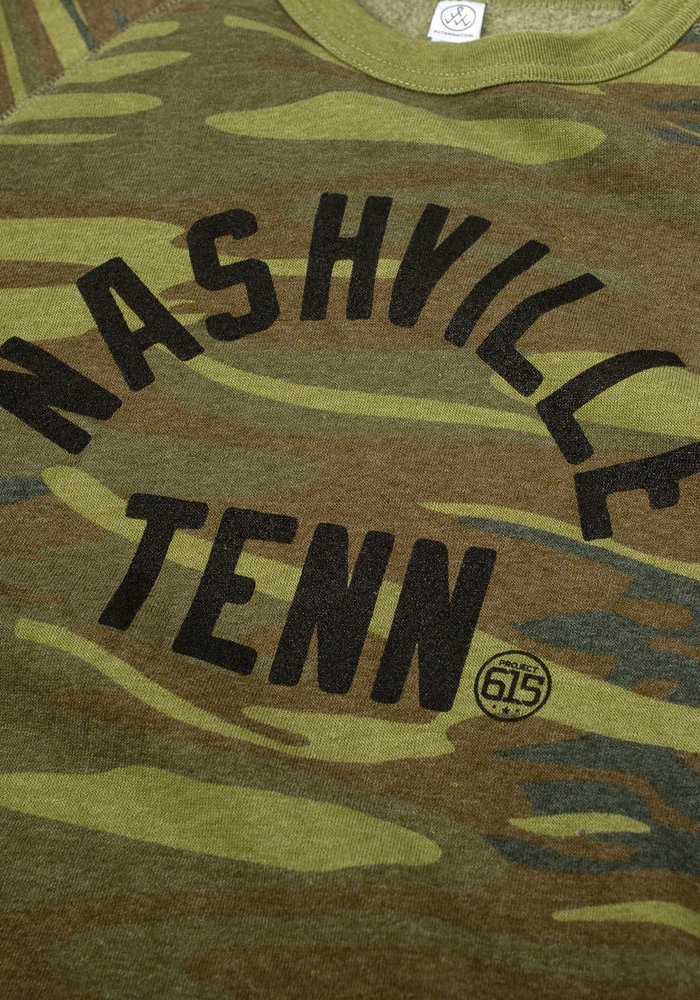 Nashville Tennessee Camo Unisex Sweatshirt