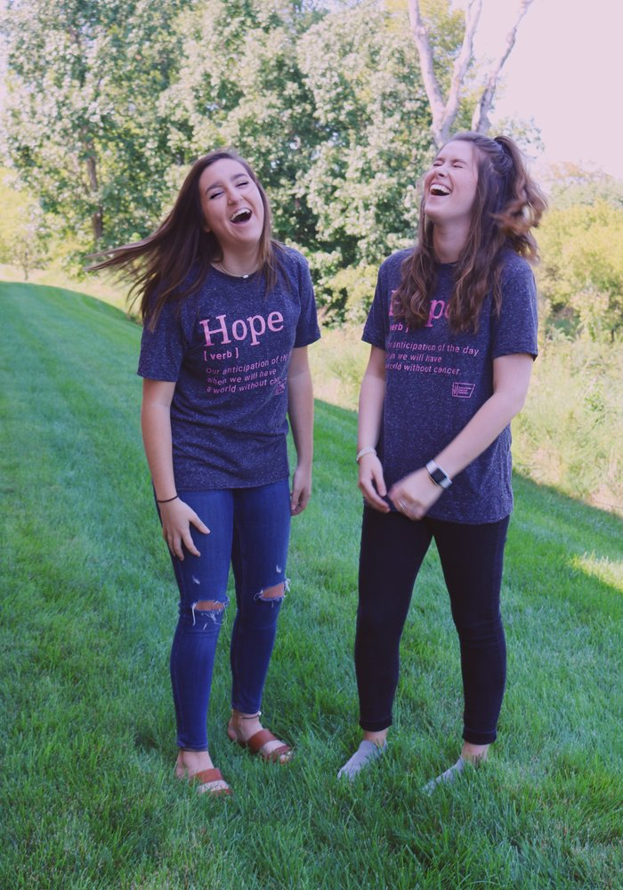 American Cancer Society Hope Definition Tee