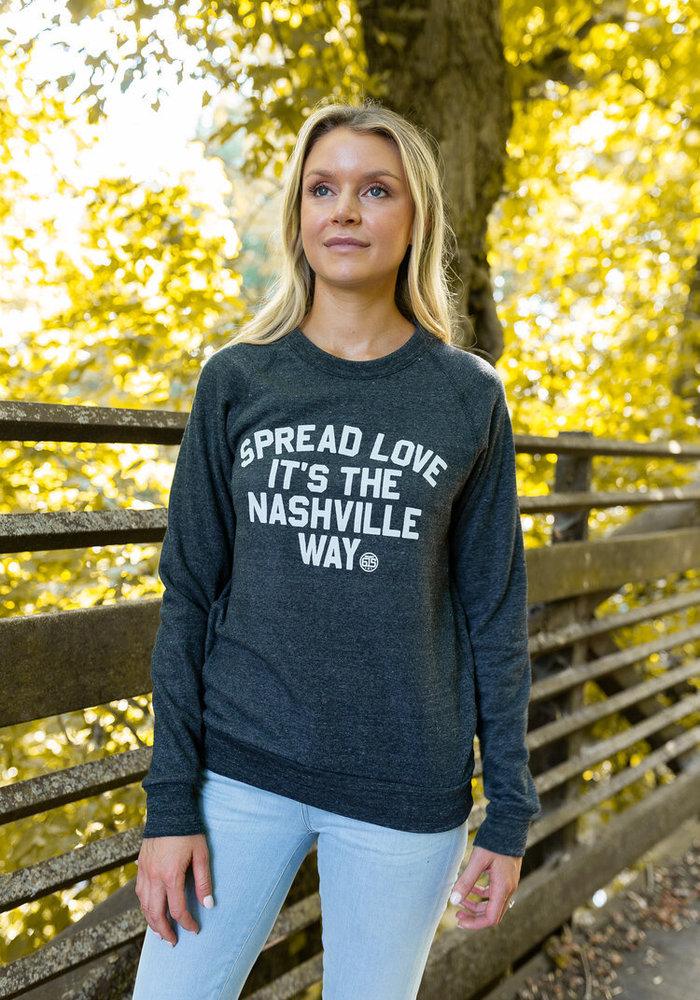 Spread Love It's the Nashville Way Unisex Pullover