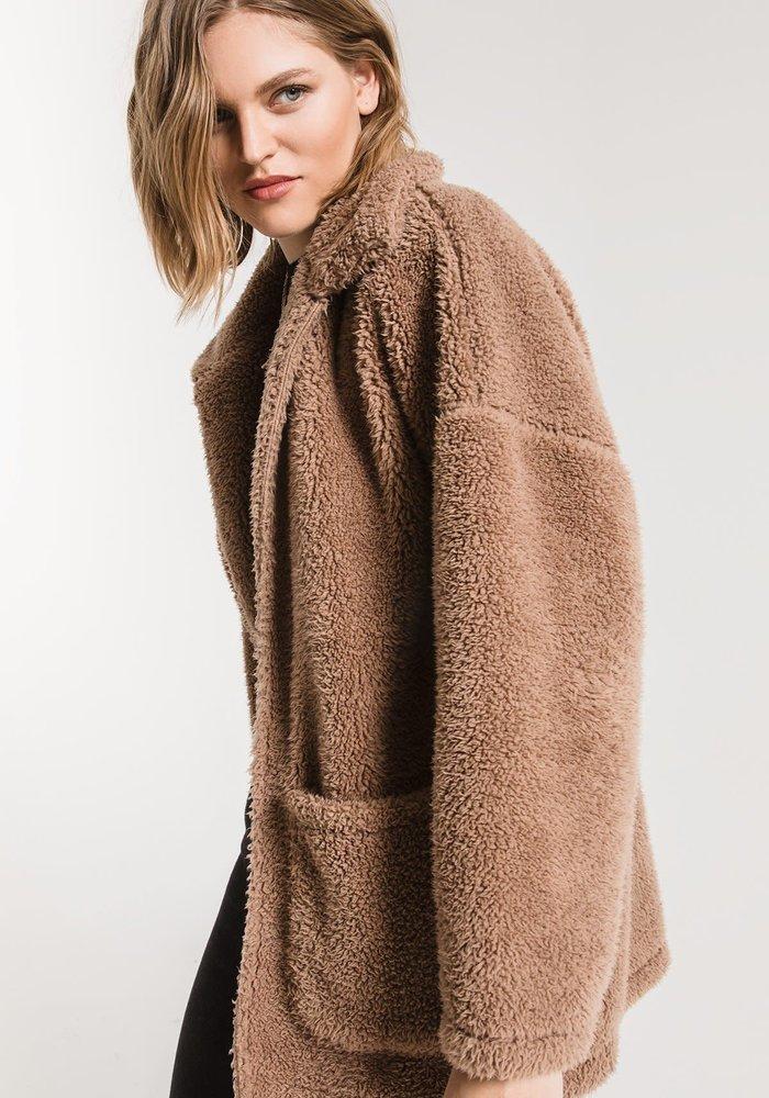 The Sherpa Teddy Bear Coat