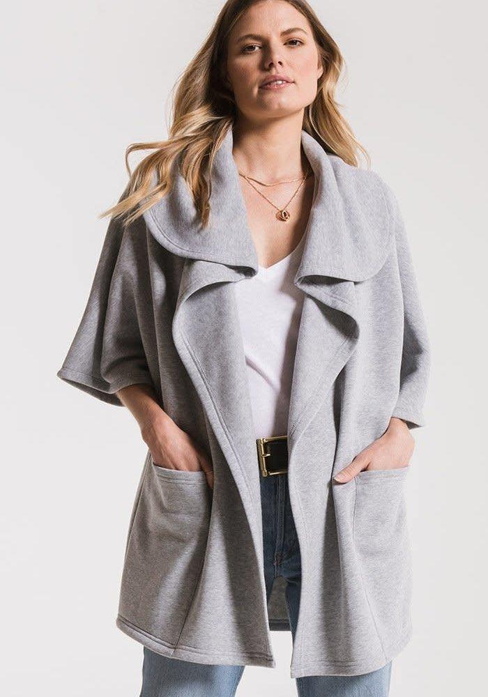 The Loft Fleece Oversized Cardigan