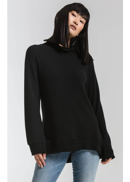 Z Supply The Soft Spun Mock Neck Pullover