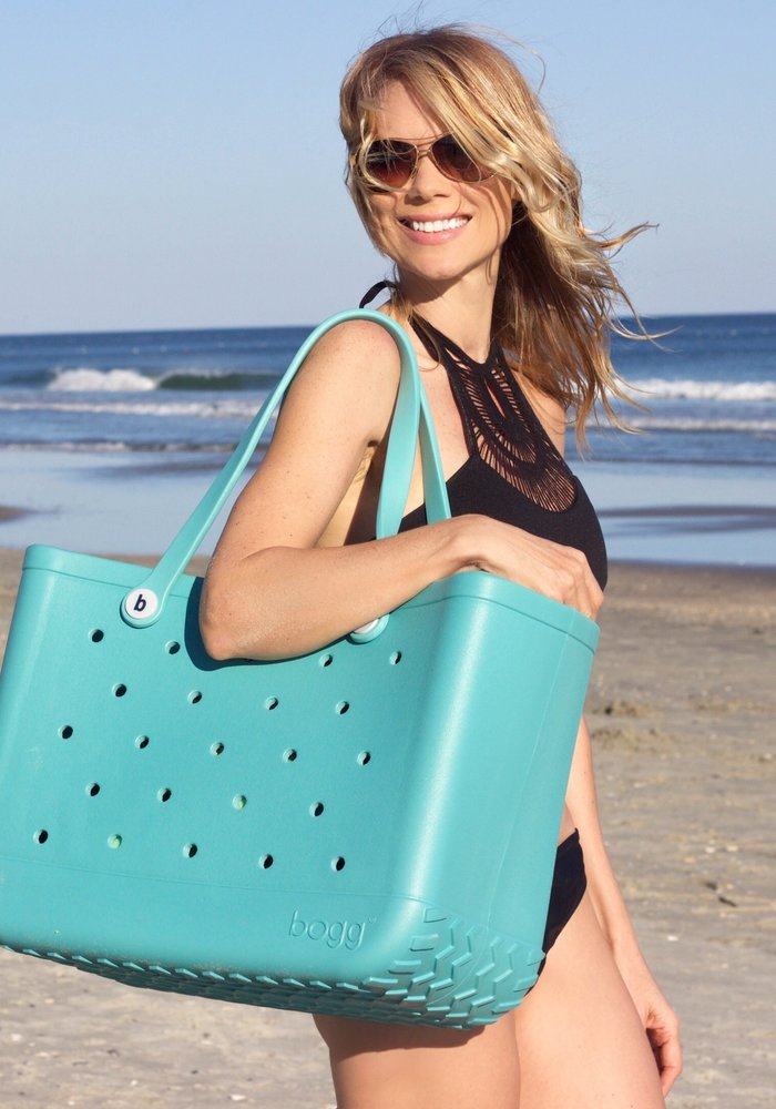 Turquoise and Caicos Bogg Bag