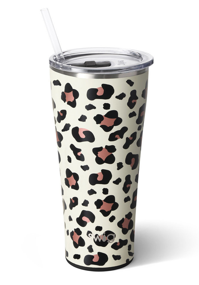 Leopard Collection Swig