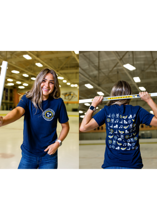 Project 615 Hockey Icons Unisex Tee