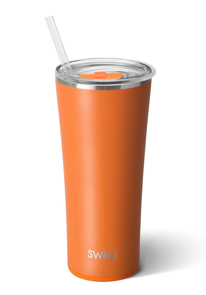 Matte Orange Swig