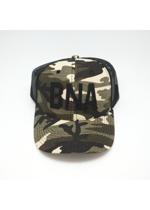 Aviate BNA Camo Trucker Hat