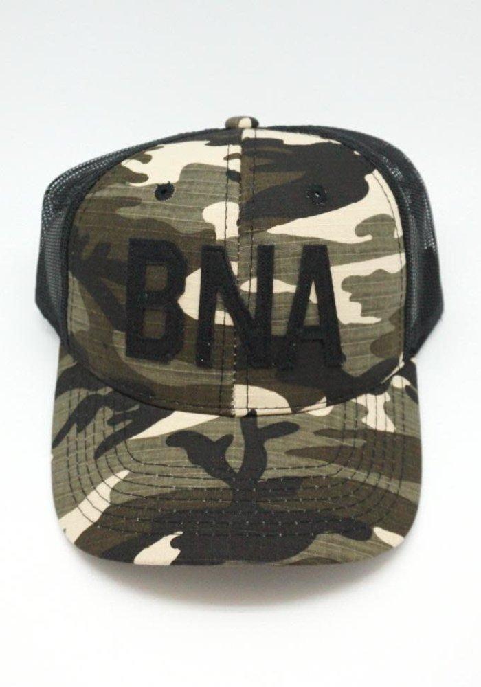 Aviate BNA Camo Trucker Hat