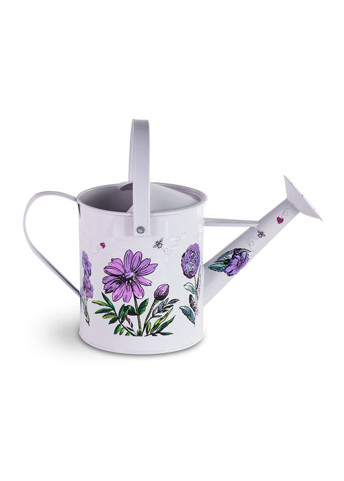 Vera Bradley Watering Can, Lavender Meadow