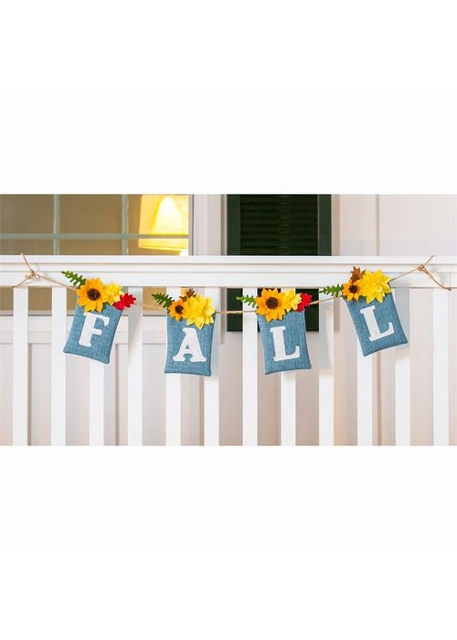Fall Floral Pocket Look Banner