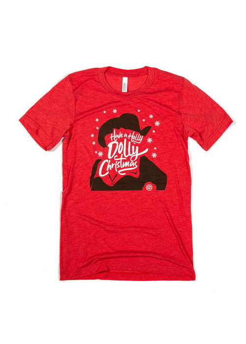 Project 615 Have a Holly Dolly Christmas Unisex Tee