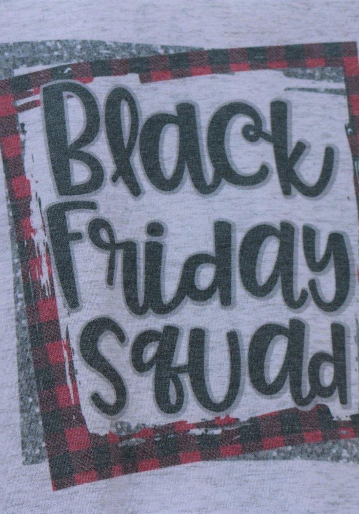 Black Friday Squad Holiday Raglan Tee