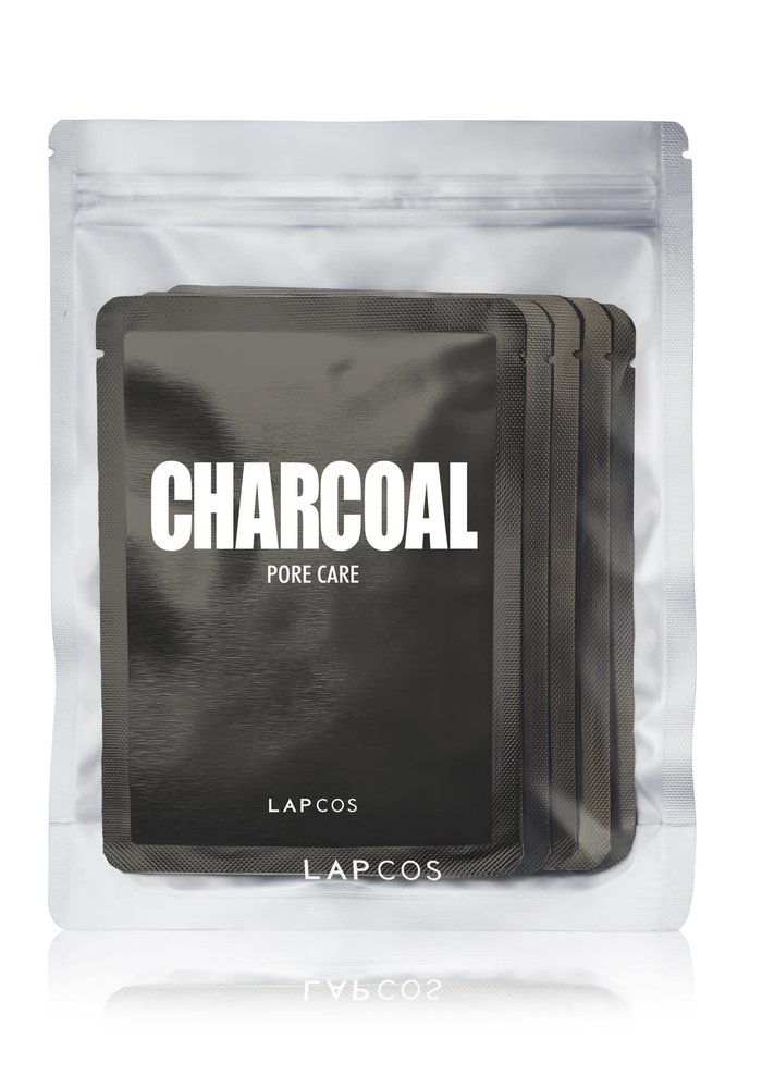 5-Pack Daily Skin Mask Charcoal Pore Care