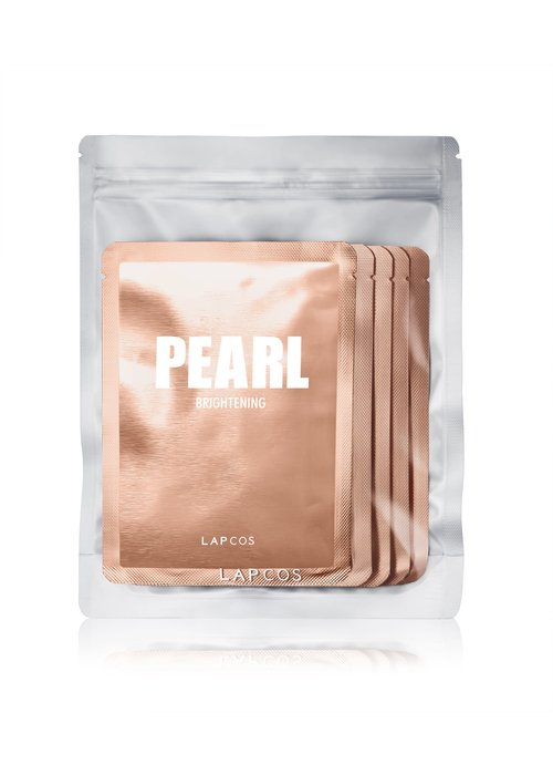 LAPCOS 5-Pack Daily Skin Mask Pearl Brightening