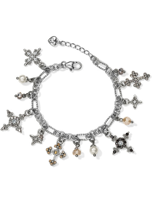 Brighton Crosses Of The World Charm Bracelet