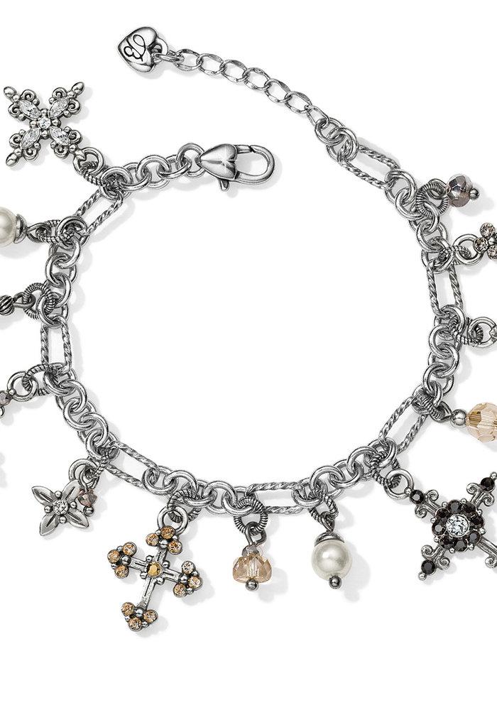 Crosses Of The World Charm Bracelet