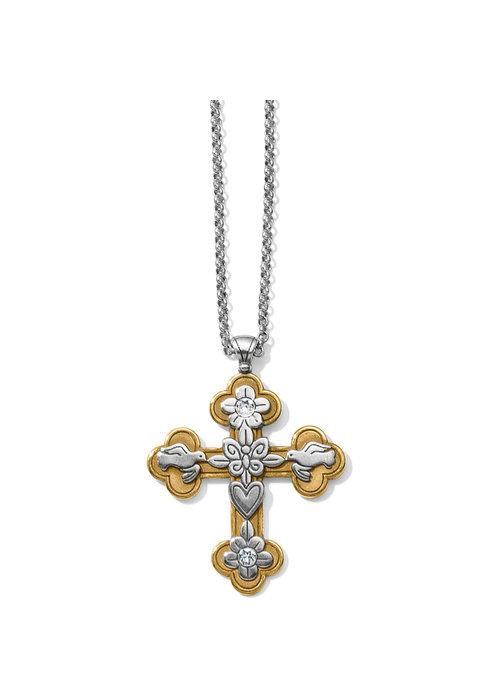 Brighton Bethlehem Reversible Cross Necklace