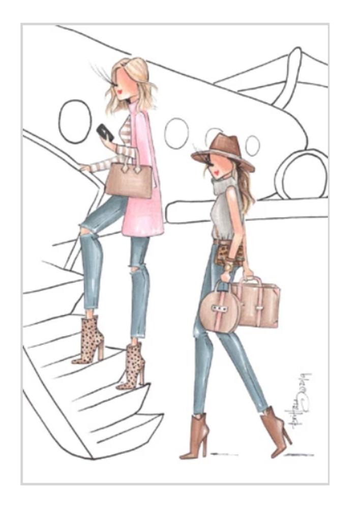 """""""Aspen"""" Brittany Fuson™ Luggage Tag"""