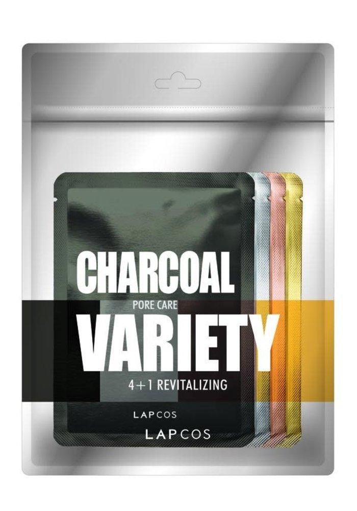Variety 4+1 Revitalizing Sheet Mask Pack