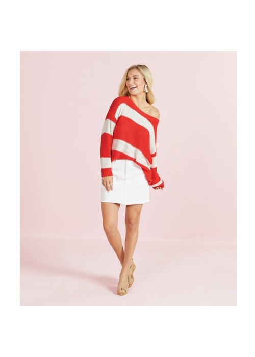 Mudpie Tommy Striped Pullover