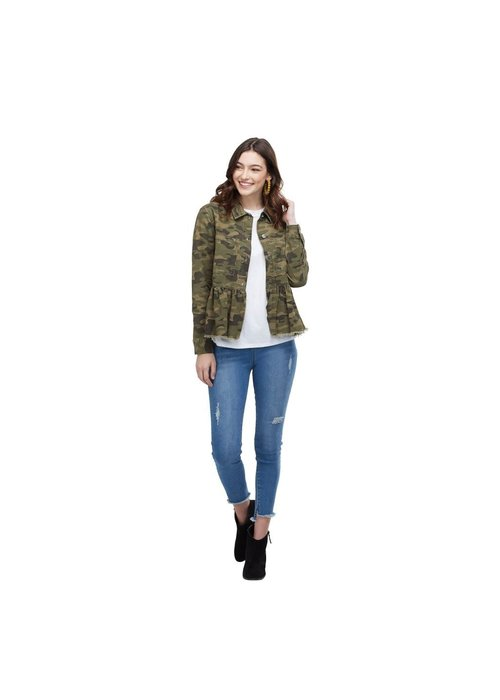 Mudpie Banks Green Camo Jacket