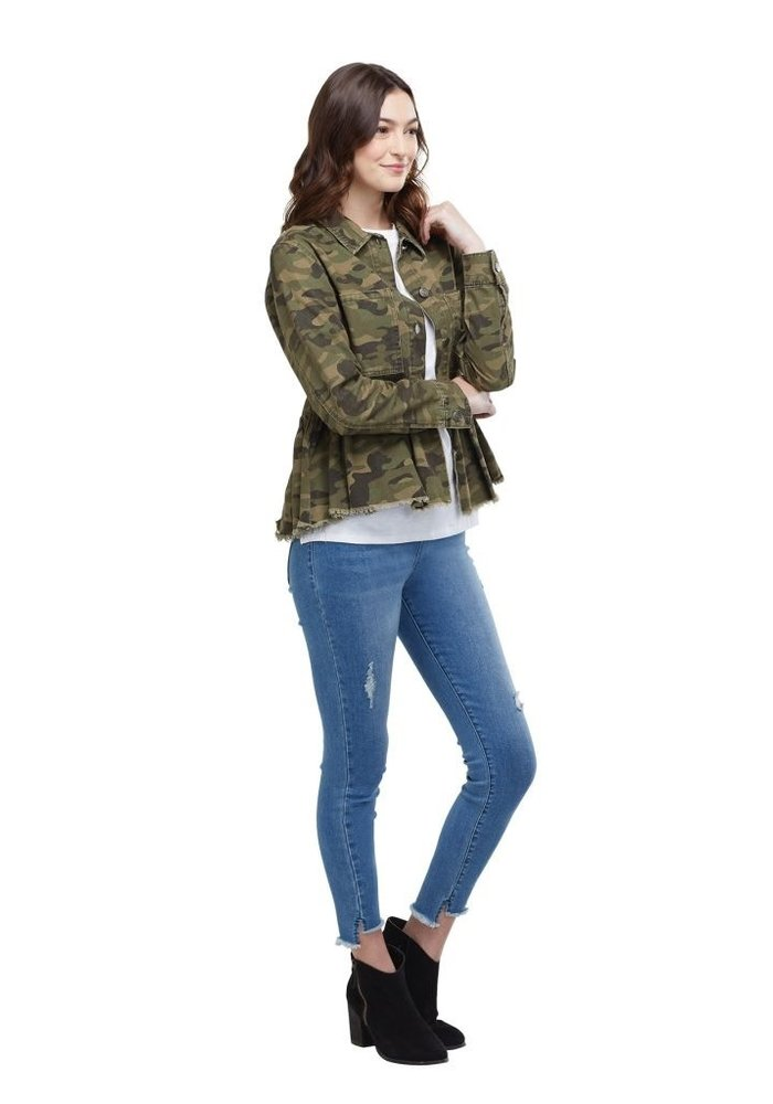 Banks Green Camo Jacket