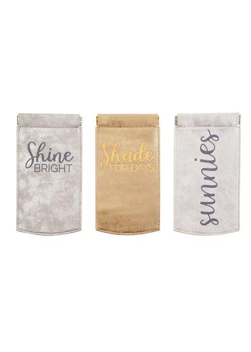 Mudpie Shimmer Sunglass Case