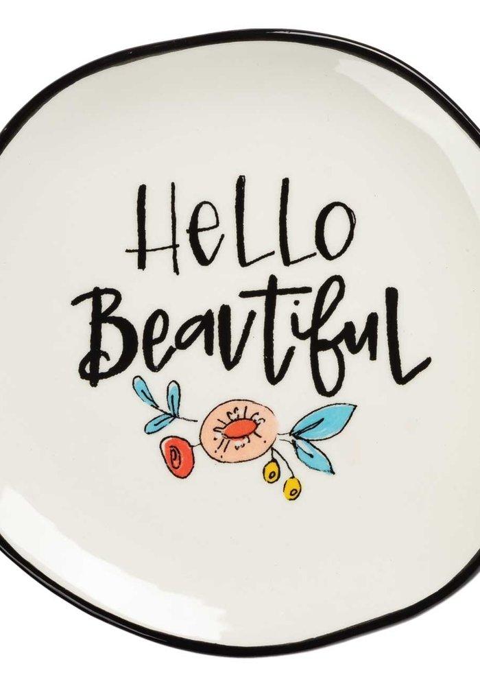 Hello Beautiful Trinket Tray