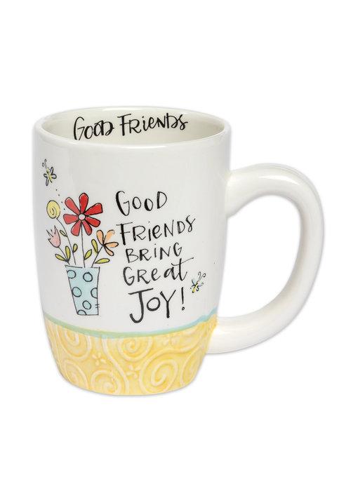 Good Friends Bring Great Joy Gift Mug