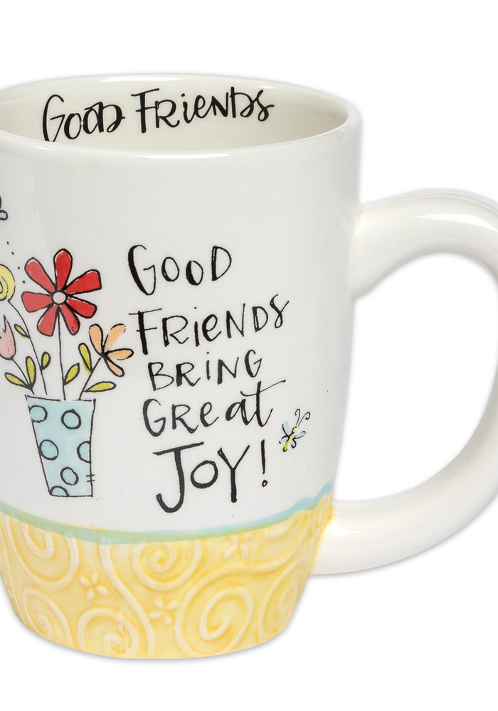 Good Friends Bring Great Joy Gift Mug