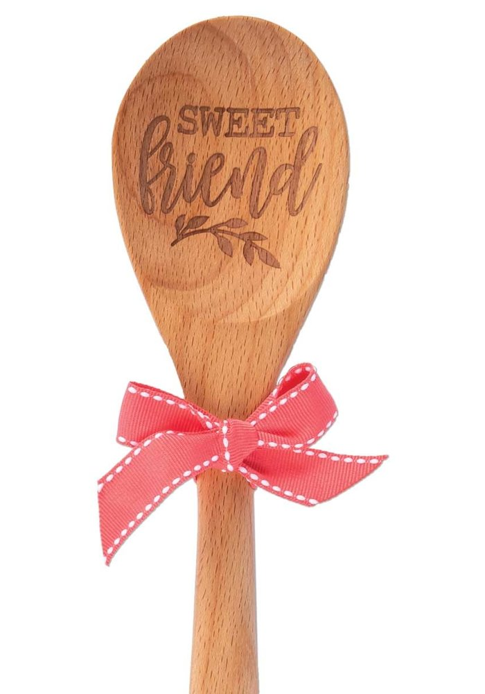 Silicone Grip Wood Gift Spoon